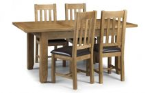 Devon Oak Dining set with 4 chairs